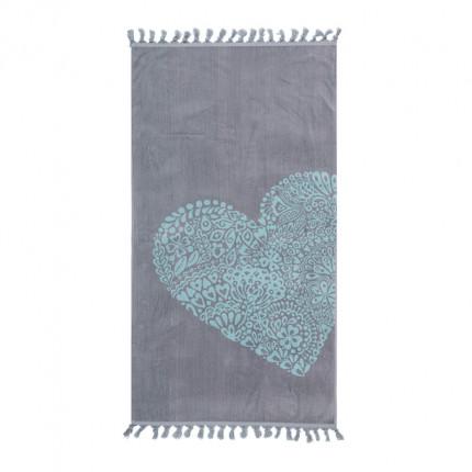 Πετσέτα Θαλάσσης 80x160 Nef Nef Trendy Heart