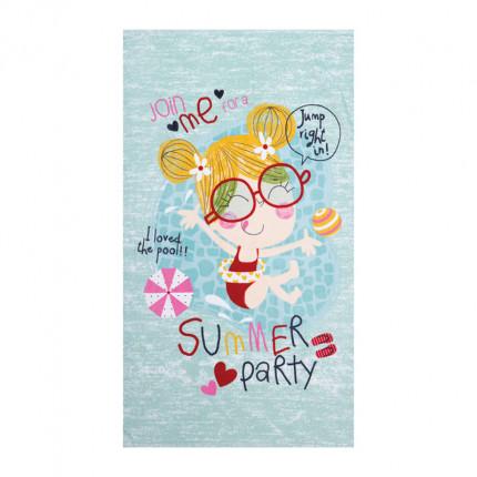 Παιδική Πετσέτα Θαλάσσης 70x120 Nef Nef Summer Party