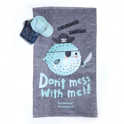 Παιδική Πετσέτα Θαλάσσης 70x120 Nef Nef Blowfish