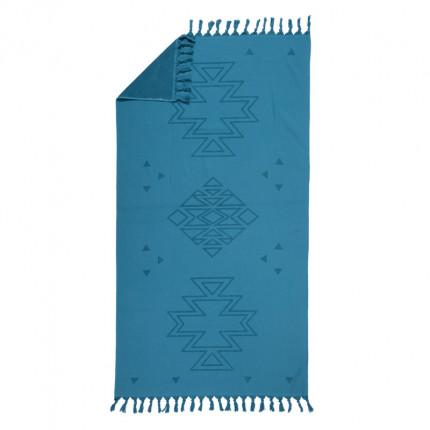 Πετσέτα Θαλάσσης 90x170 Nef Nef Peshterry Plasma Denim