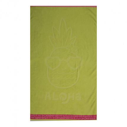 Παιδική Πετσέτα Θαλάσσης 70x120 Nef Nef Pineapple Dream Lime