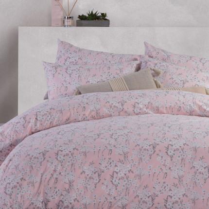 Σεντόνια Μονά (Σετ) 170x260 Nef Nef Smart Line Carmen Pink