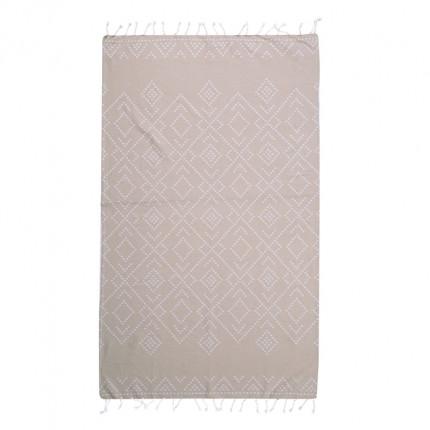 Πετσέτα Θαλάσσης 90x170 Nef Nef Pestemal Sredor Grey