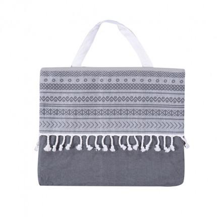 Τσάντα Θαλάσσης 45x55 Nef Nef Trivial Anthracite
