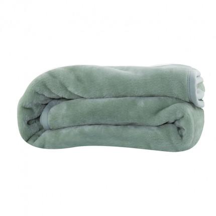Κουβέρτα Βελουτέ Μονή 160x220 Nef Nef Loft 1143-Green