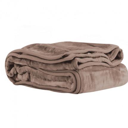 Κουβέρτα Βελουτέ Υπέρδιπλη 240x220 Nef Nef Loft 1140-Mocca