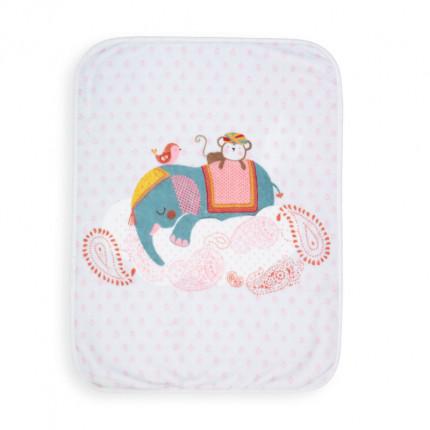 Κουβέρτα Βελουτέ Κούνιας 100x140 Nef Nef Boho Baby