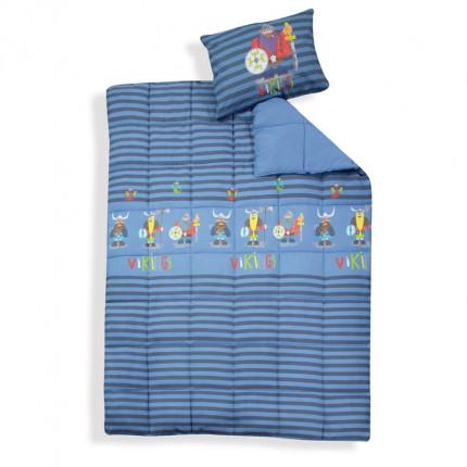 Πάπλωμα Μονό 160x220 Nef Nef Vikings Style Blue