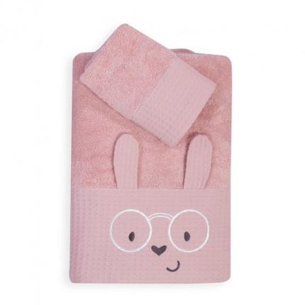 Βρεφικές Πετσέτες (Σετ 2 Τμχ) Nef Nef Fashion Baby