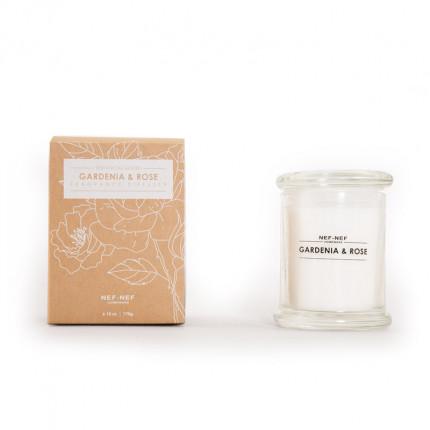 Αρωματικο Κερι Gardenia & Rose Nef Nef