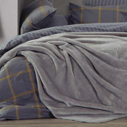 Κουβέρτα Fleece Μονή 160x220 Nef Nef Nasty Grey