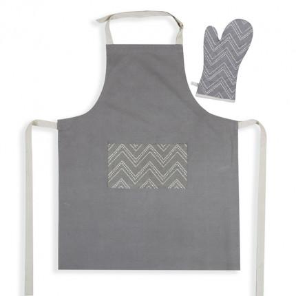Σετ Κουζίνας (2 Τμχ) Nef Nef Venture Grey
