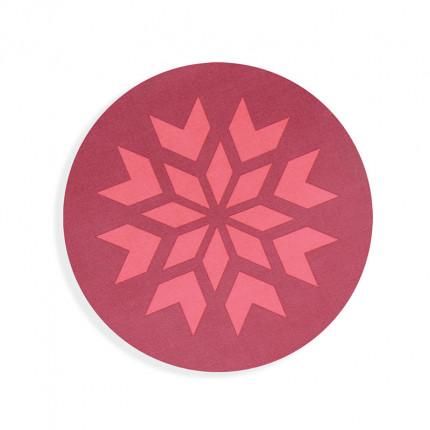 Χριστουγεννιάτικο Σουπλα Στρογγυλό Φ.35 Nef Nef Christmas Spirit Red