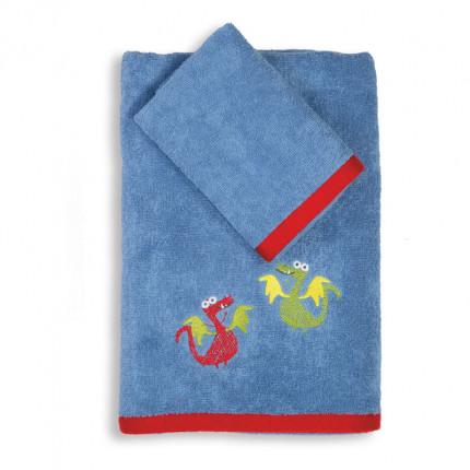 Παιδικές Πετσέτες (Σετ 2 Τμχ) Nef Nef Vikings Style Blue