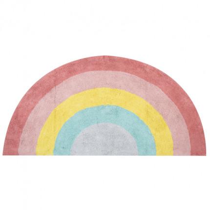 Παιδικό Χαλί 70x140 Nef Nef Rainbow Pink