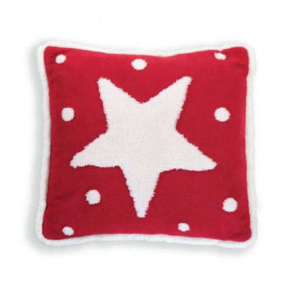 Χριστουγεννιάτικο Διακοσμητικό Μαξιλάρι 45x45 Nef Nef Sparkling Red