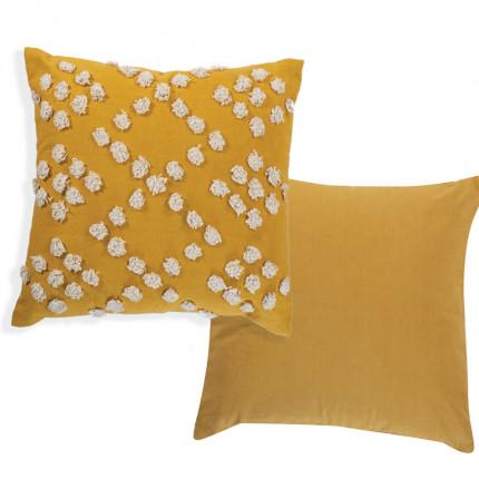 Διακοσμητικό Μαξιλάρι 45x45 Nef Nef Deline Yellow
