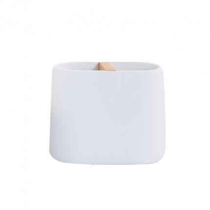 Ποτήρι Μπάνιου Nef Nef Bright White