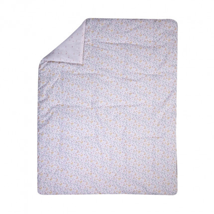 Κουβερλί Κούνιας 110x140 Nef Nef Liberty Pink