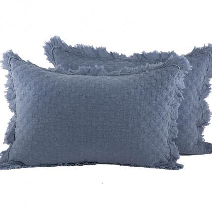 Μαξιλαροθήκες Ζεύγος 52x72 Nef Nef Ramon Blue