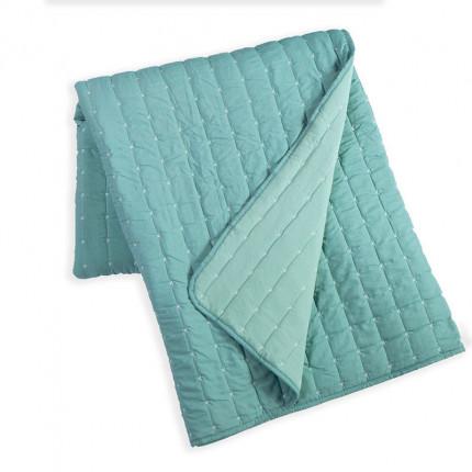 Κουβερλί King Size 270x270 Nef Nef Bicolor Aqua-L.Green