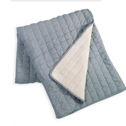 Κουβερλί King Size 270x270 Nef Nef Bicolor Grey-Cream