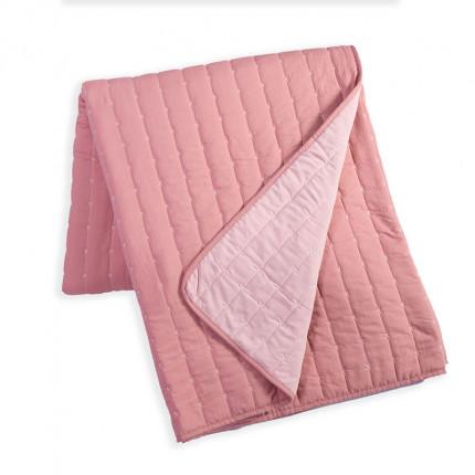 Κουβερλί King Size 270x270 Nef Nef Bicolor D.Pink-L.Pink