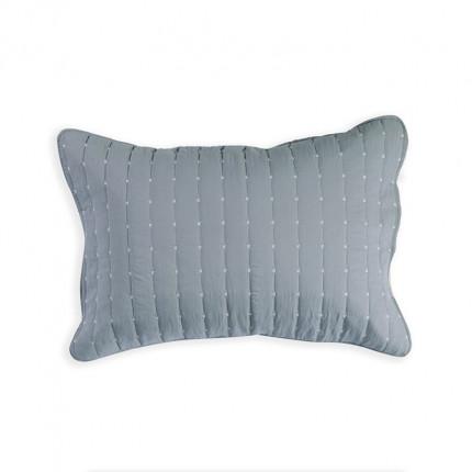 Μαξιλαροθήκες Ζεύγος 52x72 Nef Nef Bicolor Grey-Cream