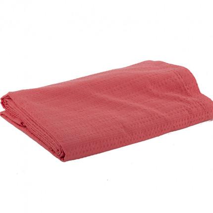 Κουβέρτα Πικέ Υπέρδιπλη 220x240 Nef Nef Cool 1155-Coral