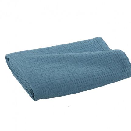 Κουβέρτα Πικέ Υπέρδιπλη 220x240 Nef Nef Cool 1027-Dusty Aqua