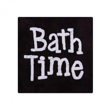 Πατάκι Μπάνιου 80x80 Nef Nef Bath Time Black
