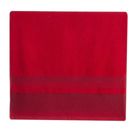 Πετσέτα Χεριών 30x50 Nef Nef Keneth Red