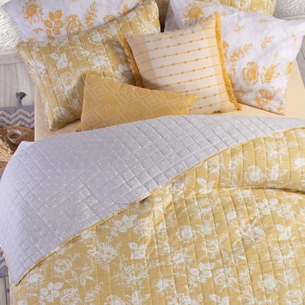 Κουβερλί Μονό 180x220 Nef Nef Correta Yellow