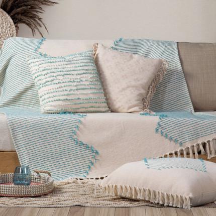 Κουβέρτα Καναπέ 130x170 Nef Nef Alexia Aqua