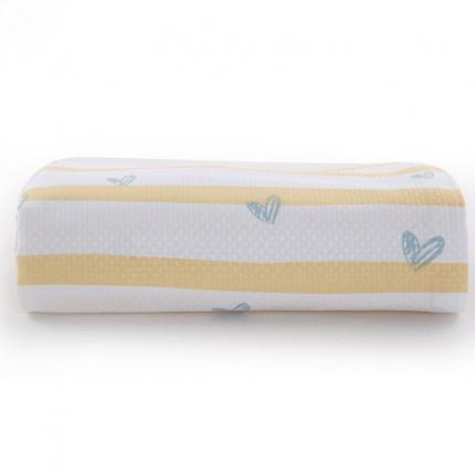 Κουβέρτα Πικέ Μονή 160x240 Nef Nef Fresh Line Yellow