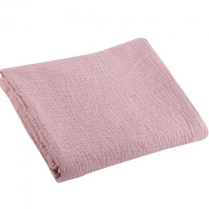 Κουβέρτα Πικέ Κούνιας 110x150 Nef Nef Tenderness Pink