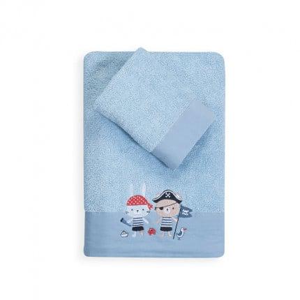 Βρεφικές Πετσέτες (Σετ 2 Τμχ) Nef Nef All Aboard Blue