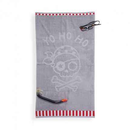 Πετσέτα Θαλάσσης 70X120 Nef Nef Yo Ho Ho Grey
