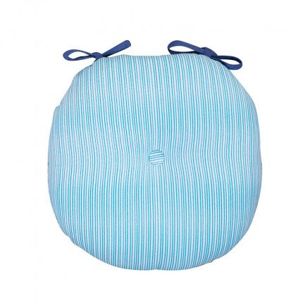 Μαξιλάρι Καρέκλας 40x40 Nef Nef Blue Fishes Way Blue