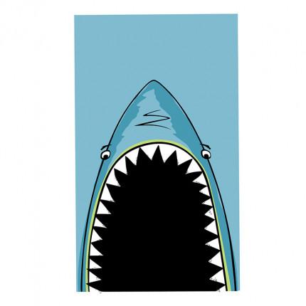 Πετσέτα Θαλάσσης 70X120 Nef Nef Shark Jaws Blue