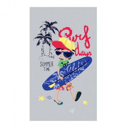 Πετσέτα Θαλάσσης 70X120 Nef Nef Surf Boy Grey