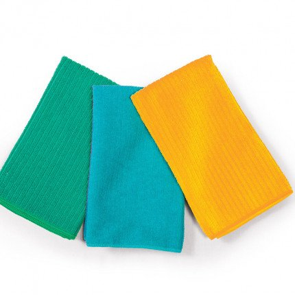 Ποτηρόπανο 40x60 Nef Nef Chrome Yellow-Petrol-Green
