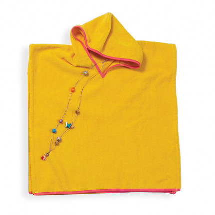 Poncho 60X120 Nef Nef Bono Yellow
