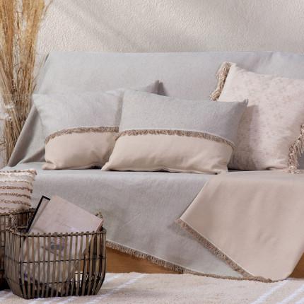 Ριχτάρι Καναπέ, Πολυθρόνας Nef Nef Nature Grey/Linen
