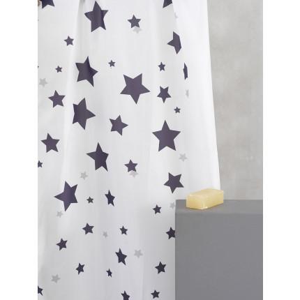 Κουρτίνα Μπάνιου 180X180 Palamaiki Celest