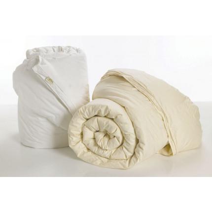 Πάπλωμα Λευκό Υπέρδιπλο 220X240 Palamaiki White Comfort Pura Quilt Crème