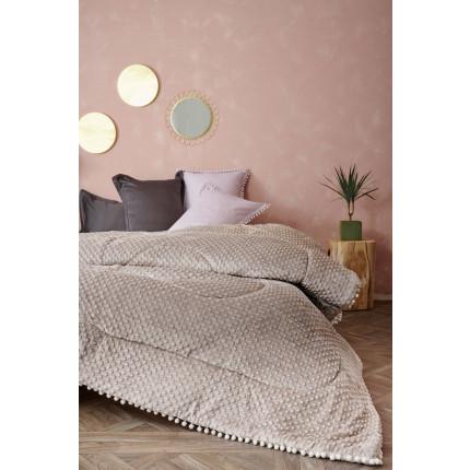 Κουβερτοπάπλωμα Μονό 160X220 Palamaiki Desire Blanket Desire Grey