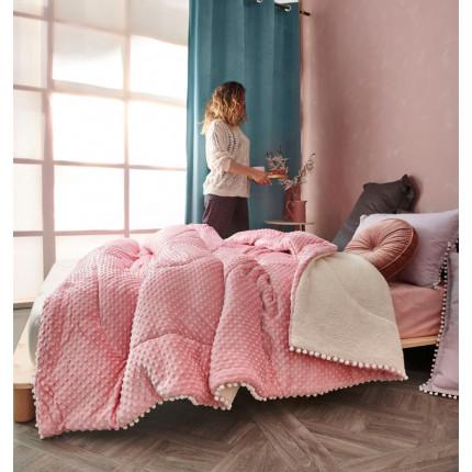 Κουβερτοπάπλωμα Υπέρδιπλο 220X240 Palamaiki Desire Blanket Desire Pink