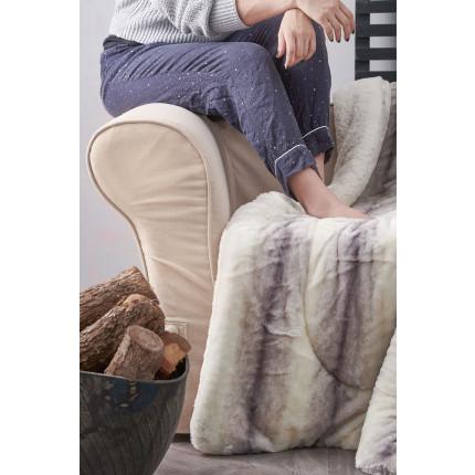 Κουβέρτα Καναπέ 130X180 Palamaiki Rex Blanket Rex