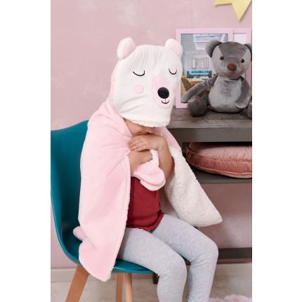 Κουβέρτα Fleece Αγκαλιάς 60X90 Palamaiki New Baby Nb0126 Pink